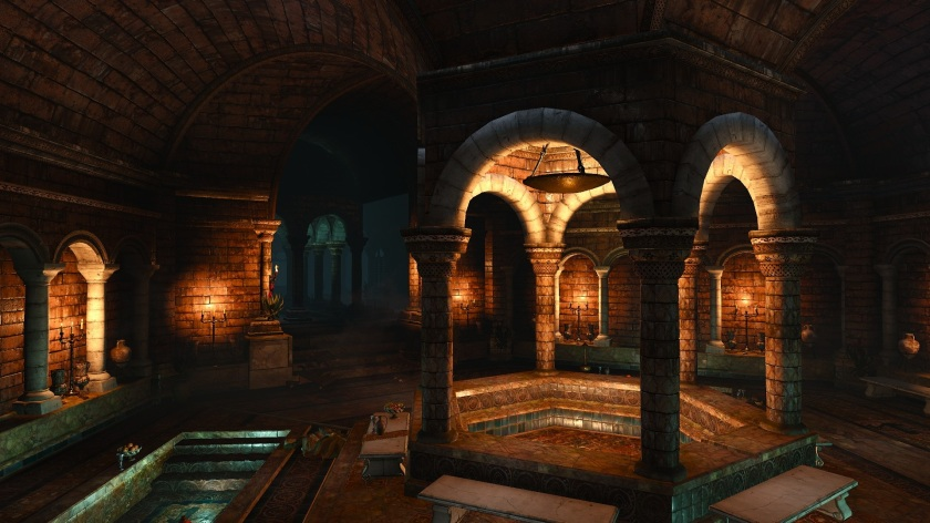 Witcher 3 Bathhouse