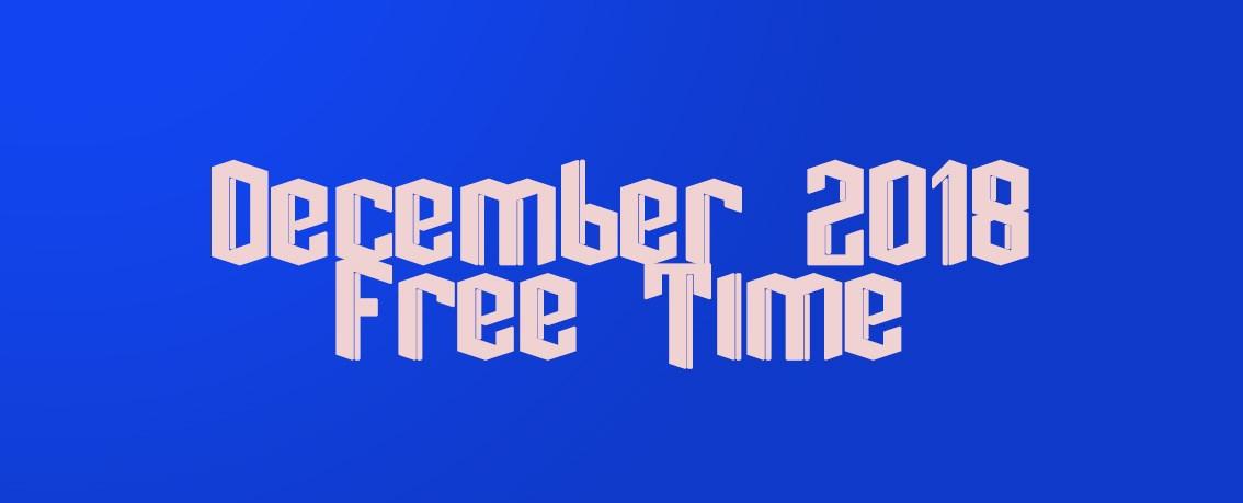 December 2018 FreeTime